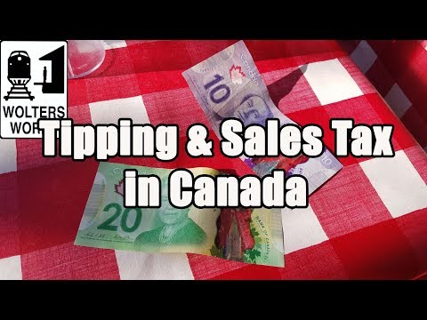 Visit Canada - Tipping & Sales Taxes In Canada