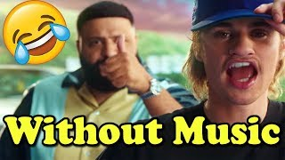 Justin Bieber - Without Music - No Brainer