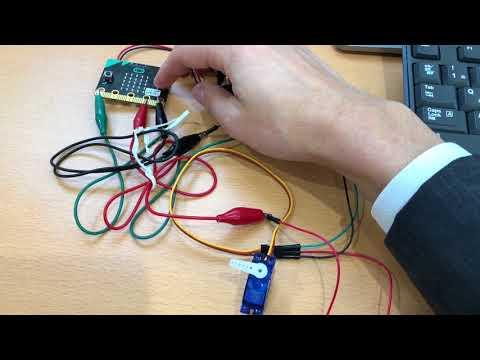 小学生から始めるmicro:bit:サーボモータを使ってみる