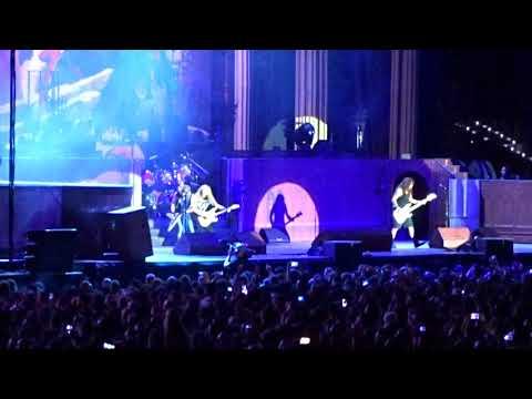 Iron Maiden - Run to the Hills at Wanda Metropolitano 14.07.2018 Madrid Spain