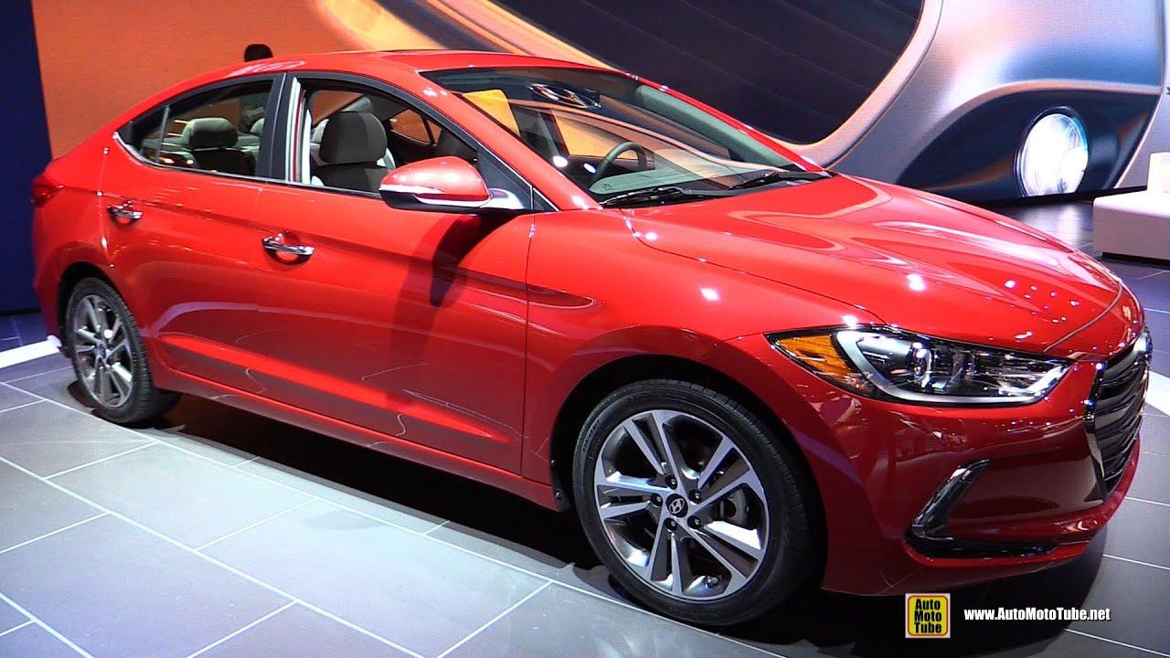 2017 Hyundai Elantra Limited Exterior And Interior Walkaround Debut At 2016 Detroit Auto