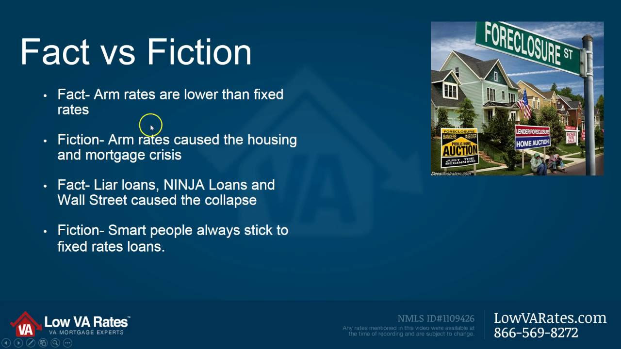 VA Hybrid ARM Mortgage Facts VS Fiction