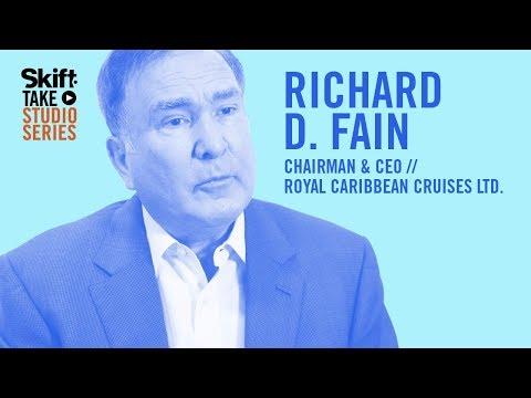 Royal Caribbean Cruise's Chairman & CEO at Skift Take Studio
