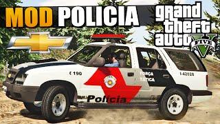 GTA V Carro de Policia Brasileiro