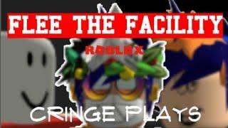 Cringe plays: Roblox Flee the Facility - Matt, Jeff, and Tiptop (Matt literally d i e s)