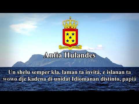 """National Anthem of the Netherlands Antilles (2000-2010): """"Volkslied van de Nederlandse Antillen"""""""