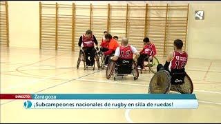 CAI ADAPTADO DE QUAD RUGBY SUBCAMPEONES DE ESPAÑA