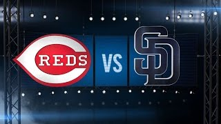 8/12/15: Iglesias fans eight to lift Reds past Padres