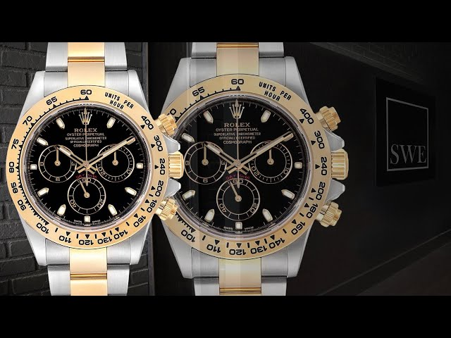 Rolex Cosmograph Daytona Steel Yellow Gold Watch 116503 | SwissWatchExpo [1 Minute Watch Review]