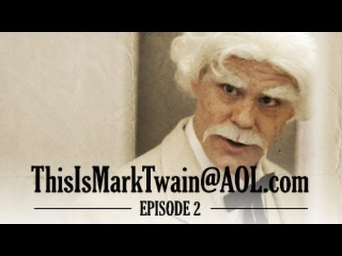 Mark Twain Hates Photocopying - ThisisMarkTwain@aol.com - Episode 2