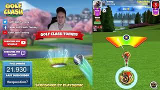 Golf Clash tips, Playthrough, Hole 1-9 - MASTER - TOURNAMENT WIND! Platinum Resorts Tournament!