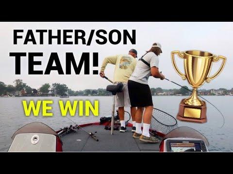 Fishing Tournament (1ST PLACE) | Bass Fishing Lake Orion Lake Michigan
