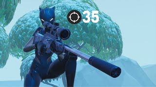 Fortnite Mobile Player Gets 35 Kill Solo Squad Win IPad Air 3 60 FPS Gameplay
