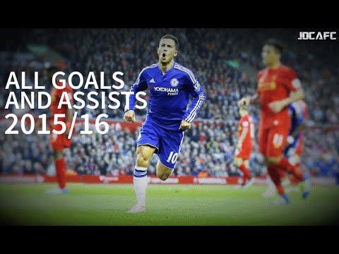 Download Eden Hazard - All Goals and Assists 2015/16 |HD|