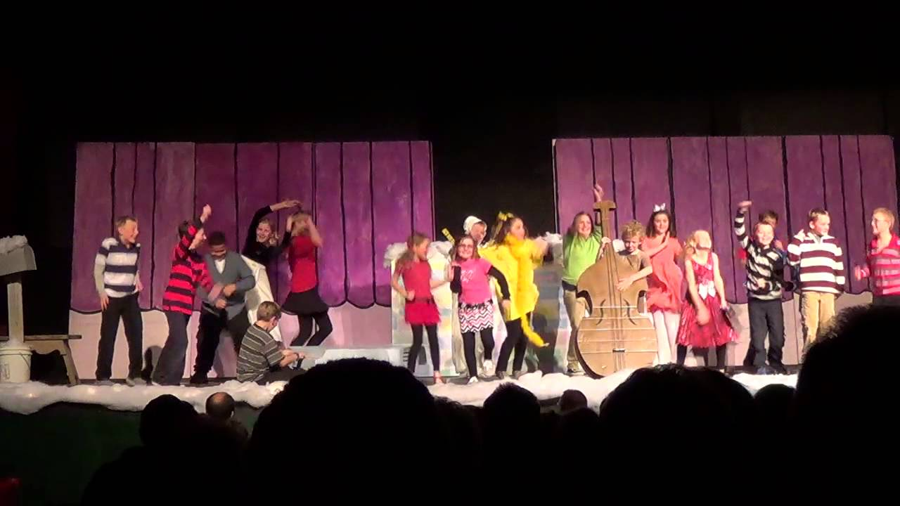 Charlie Brown Christmas Play 2014 - YouTube
