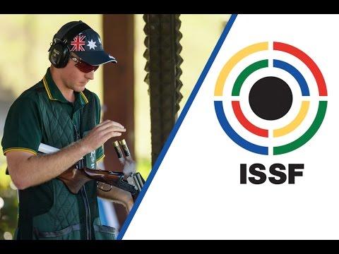 Interview with James WILLETT (AUS) - 2016 ISSF Shotgun World Cup Final in Rome (ITA)
