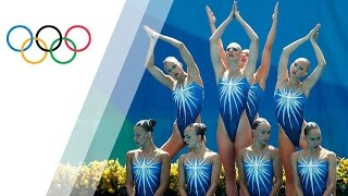 Russia wins Synchronised Swimming team gold