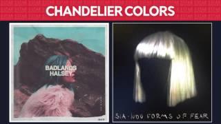 Colors vs Chandelier (Halsey & Sia) MASHUP