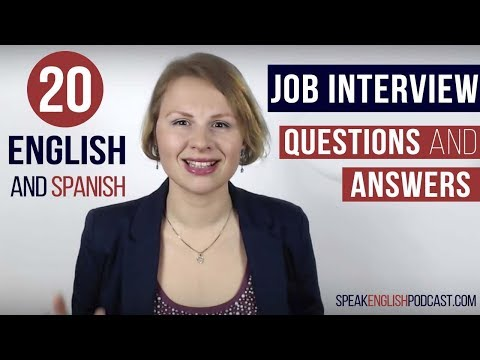 Job Interview Questions and Answers in English