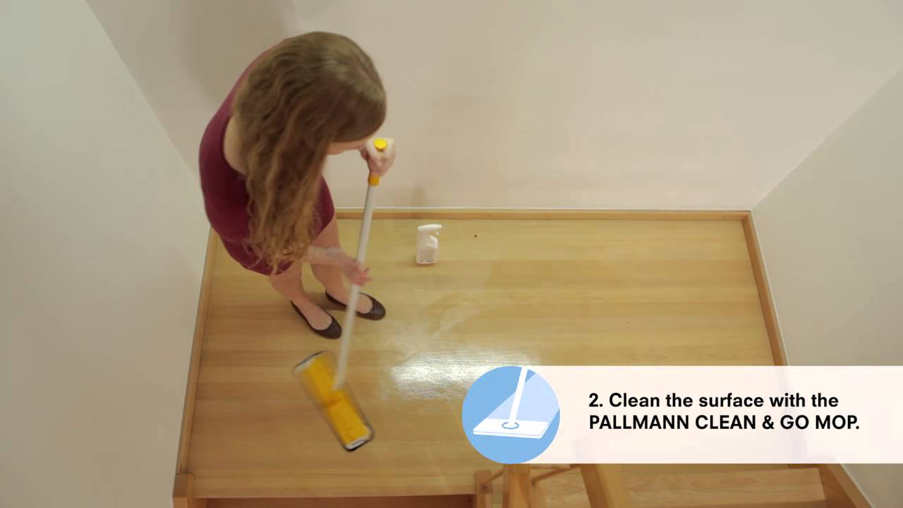 Cleaning And Aftercare Of Wood Floors Pallmann Clean And