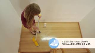 Cleaning and aftercare of wood floors | PALLMANN Clean and Go kit
