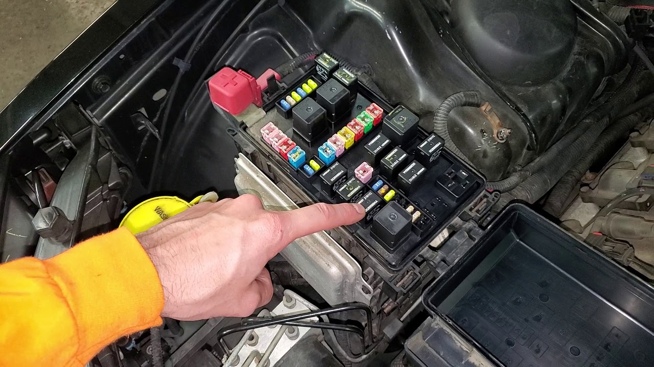 2005 Dodge Magnum Charger Relay Identification Relay Location - YouTubeYouTube