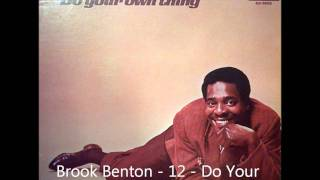 Brook Benton - 12 - Do Your Own Thing