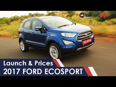 New Ford Ecosport 2017 Facaelift Launch & Prices | NDTV carandbike