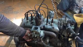 ГАЗ 67 ішінара қалпына келтіру түпнұсқа, қозғалтқышты жөндеу