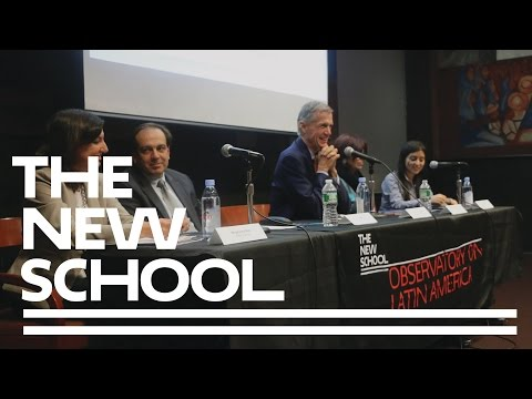 Dilemmas of Public Policy in Latin America: Analia Calero and Magdalena Bas   The New School