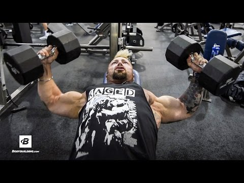 Chest & Shoulders Workout | Day 37 | Kris Gethin's 8-Week Hardcore Training Program