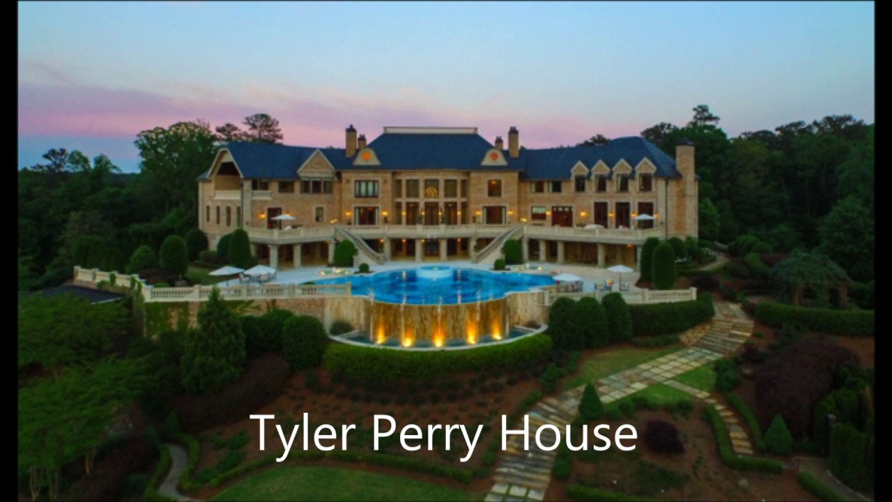 Tom Cruise House Tour Vs Tyler Perry House Tour - YouTube