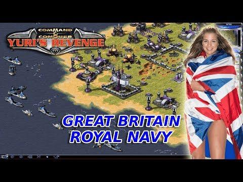 Red Alert 2 - Great Britain Royal Navy - 7 vs 1