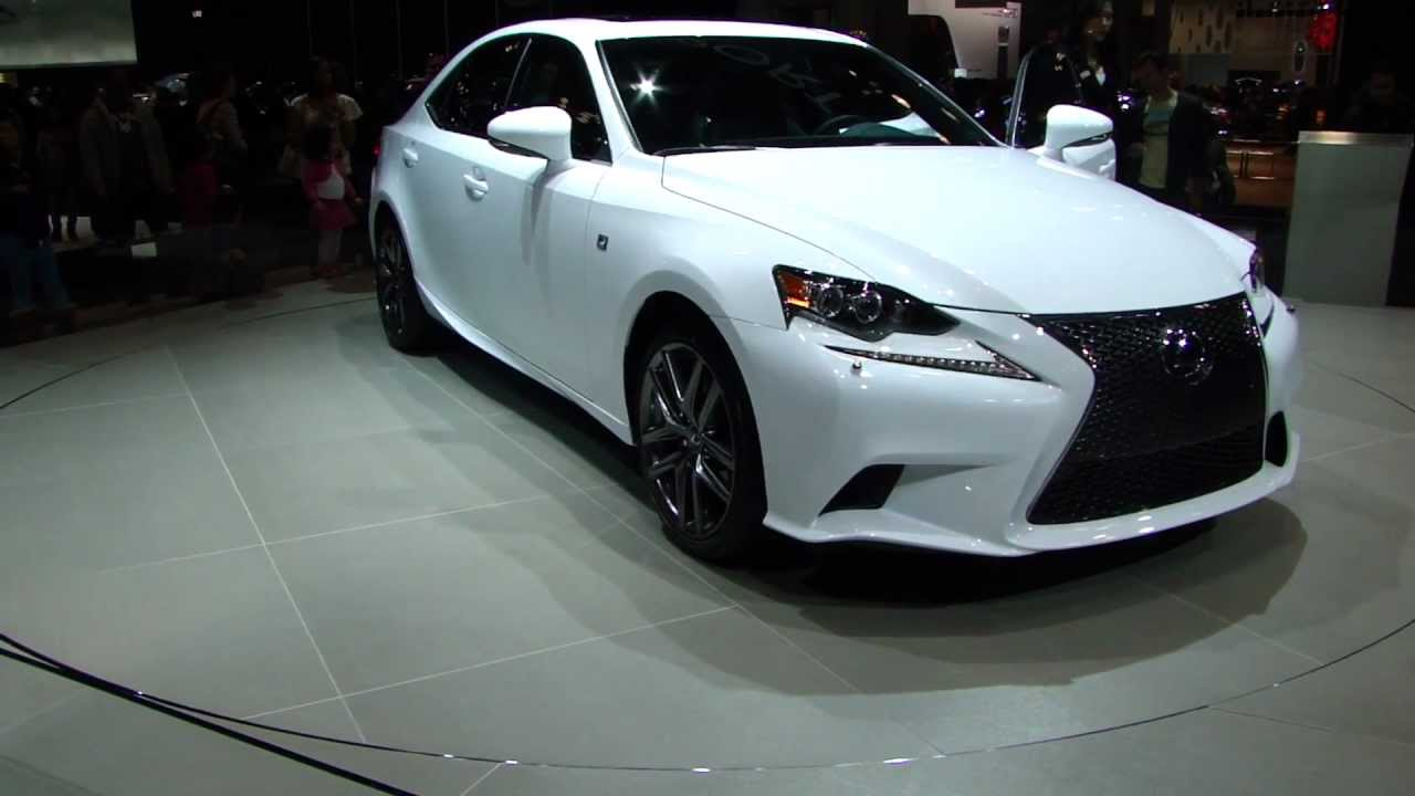 new york auto show lexus is350 f sport 2014 youtube. Black Bedroom Furniture Sets. Home Design Ideas
