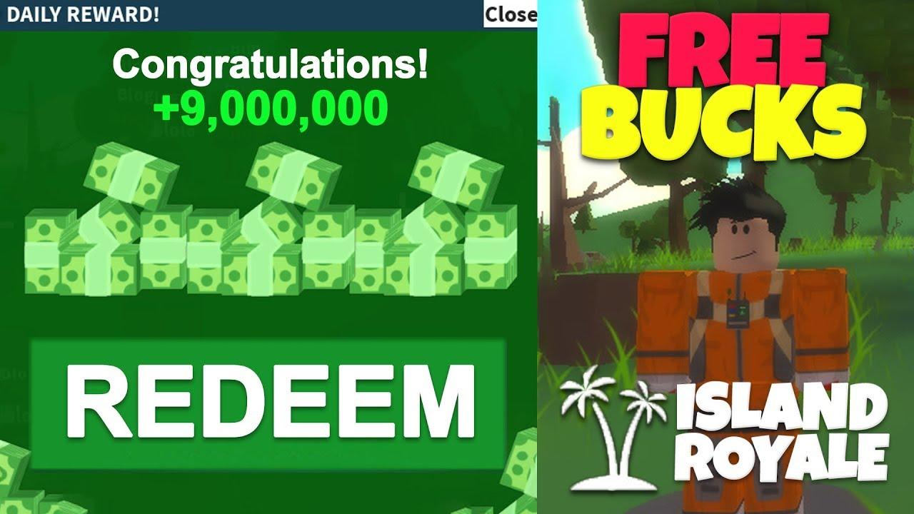 New Free Bucks Code Roblox Fortnite Island Royale