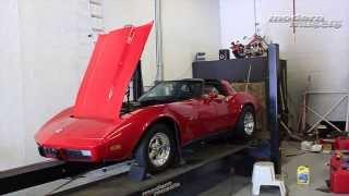 modern muscle c3 corvette stingray dyno pulls