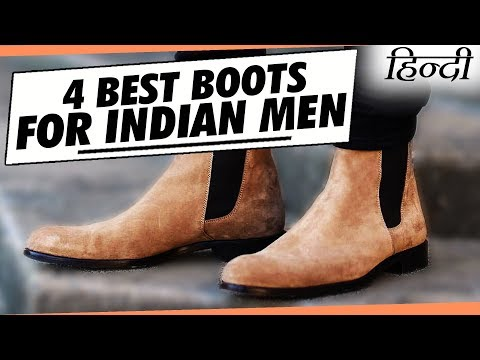 4 BEST Shoes for Every INDIAN Guy in Hindi | Best Men's Boots Collection for Indian Men in Hindi