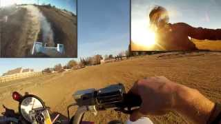 Christmas Eve Ride - Dirt Bike(KTM 360) vs Quad(Banshee) vs Street Bike(R1)