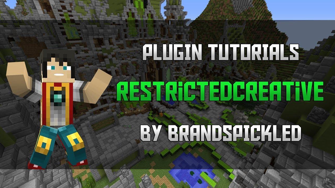 RestrictedCreative | SpigotMC - High Performance Minecraft
