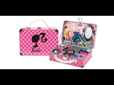 BARBIE MAKEUP KIT LUX LIFE ♥ - YouTube