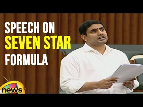 Nara Lokesh delivers speech on Seven Star Formula in AP Assembly | Mango News
