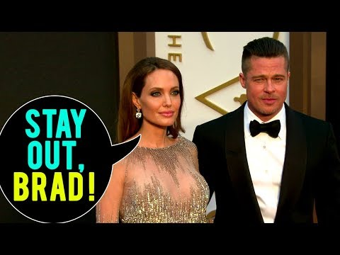Angelina Jolie: GET OUT BRAD PITT!   Hollywood Now