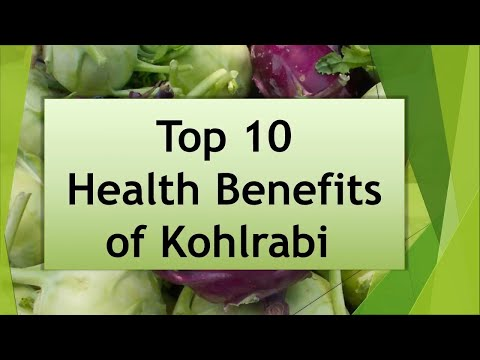 Top 10 Health Benefits Of Kohlrabi. Most Amazing Benefits Of Kohlrabi