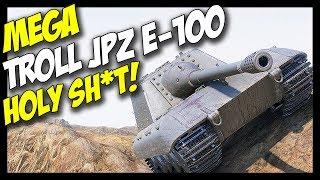 ► JagdPanzer E-100, Ultimate Derping Troll! - World of Tanks JagdPanzer E-100 Gameplay