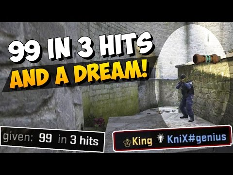 CS:GO - 99 in 3 hits a flashbang and a dream