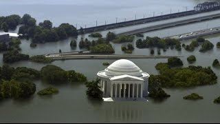 US cities under 25 feet of water