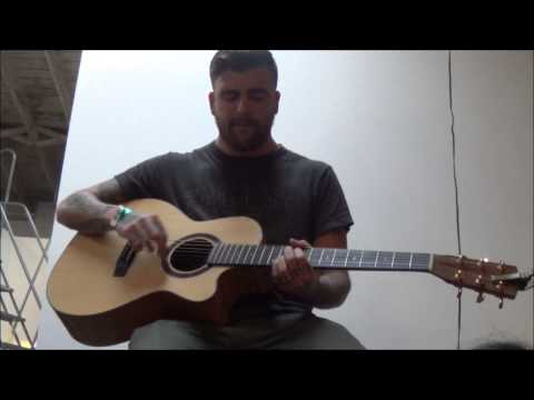 Anthony Green LIVE HD at James Coffee Co. w/ New song(East Coast Winters) and Deftones: Diamond Eyes