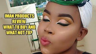 Products Iman facial
