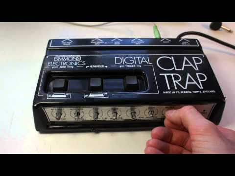 Simmons Digital Clap Trap With Issues