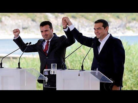 شاهد: مقدونيا تصبح رسميا جمهورية مقدونيا الشمالية  - نشر قبل 6 ساعة
